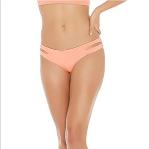 L*space Estella Cutout Bikini Bottom NWT